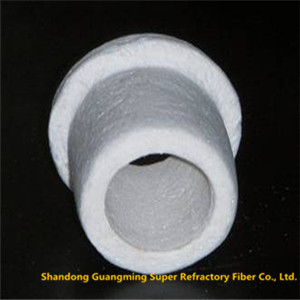 Non-brittle Ceramic Fiber Vacuum Shapes